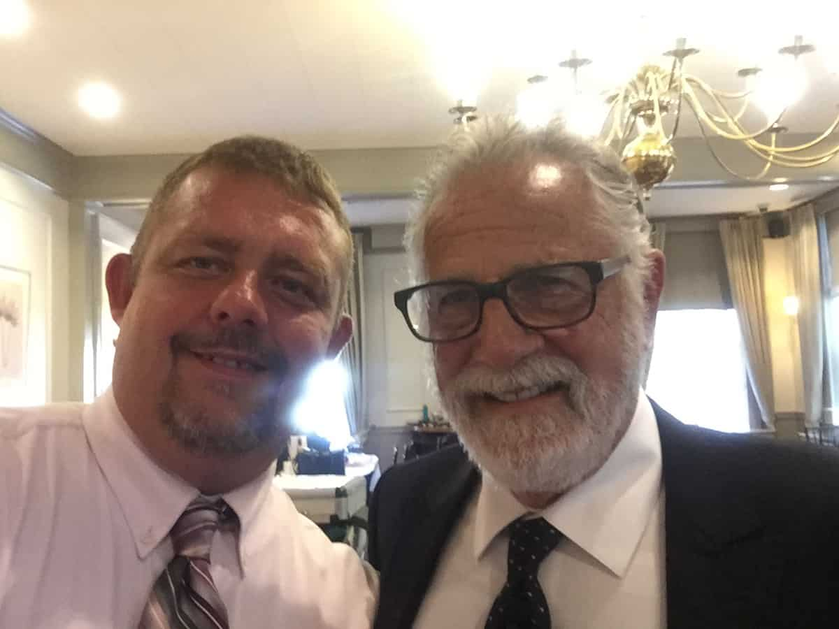 Tim Johnson With Jonathan Goldsmith (The Most Interesting Man In The World)