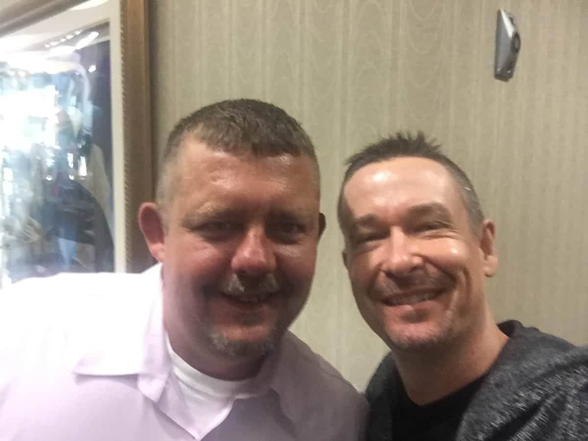 Tim Johnson With Steve Jones Professional Hypnotist and Vegas show