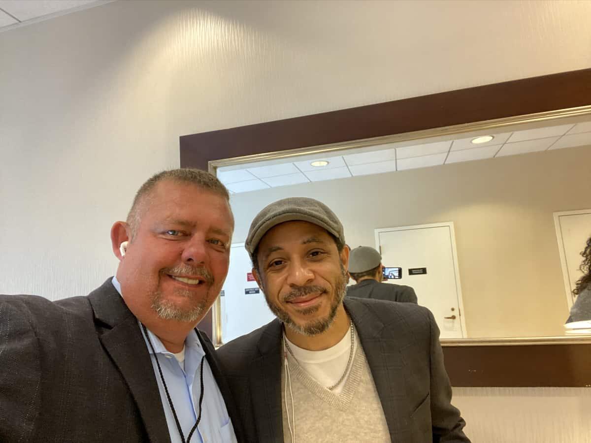 Timothy R. Johnson With Dale Godboldo (Mickey Mouse Club)