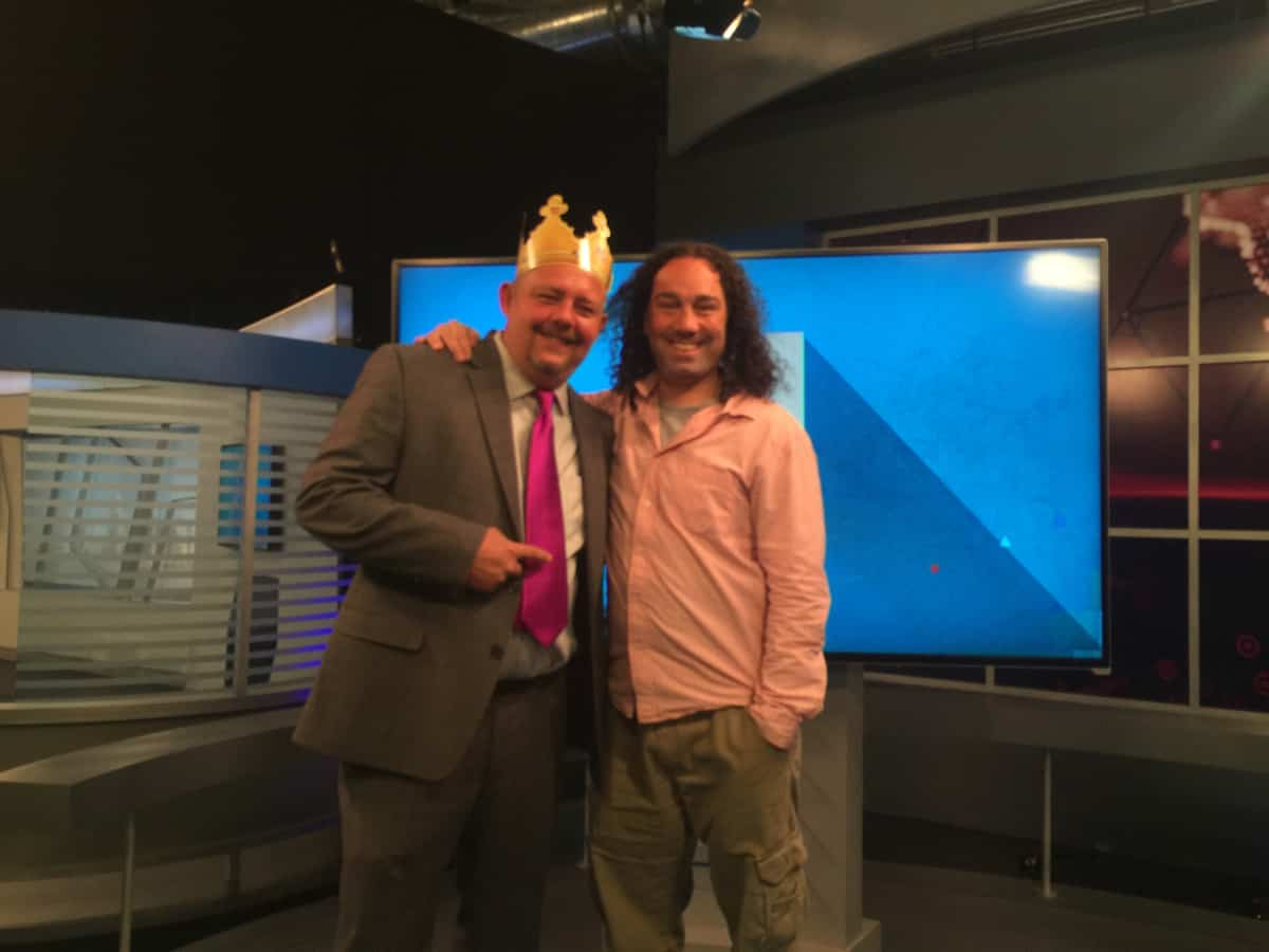 Timothy R. Johnson With Jack DeMarco - (Producer - The Daily Buzz)