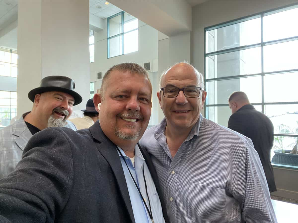 Timothy R. Johnson With Jeff Hoffman (former founder and CEO of Priceline)