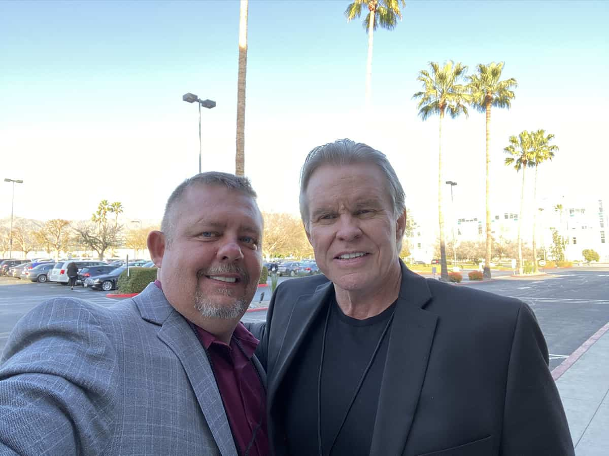 Timothy R. Johnson With John Duffy - Film Producer