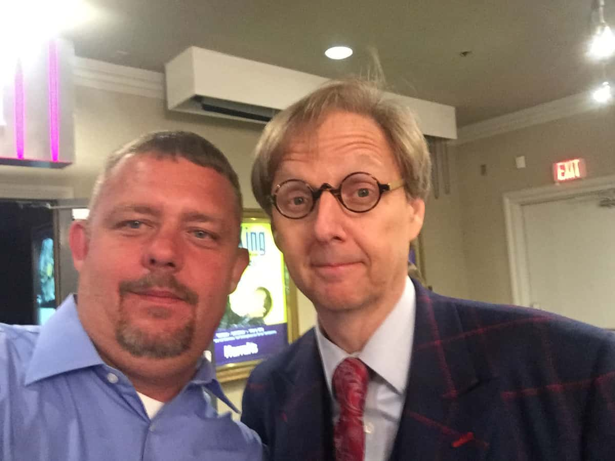 Timothy R. Johnson With Mac King (Las Vegas Magician)