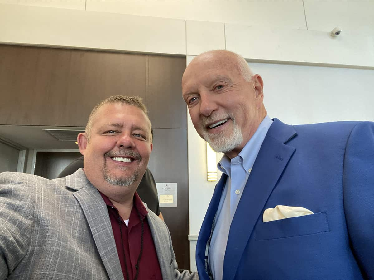 Timothy R. Johnson With Mark Victor Hansen (Author of Chicken Soup For The Soul)