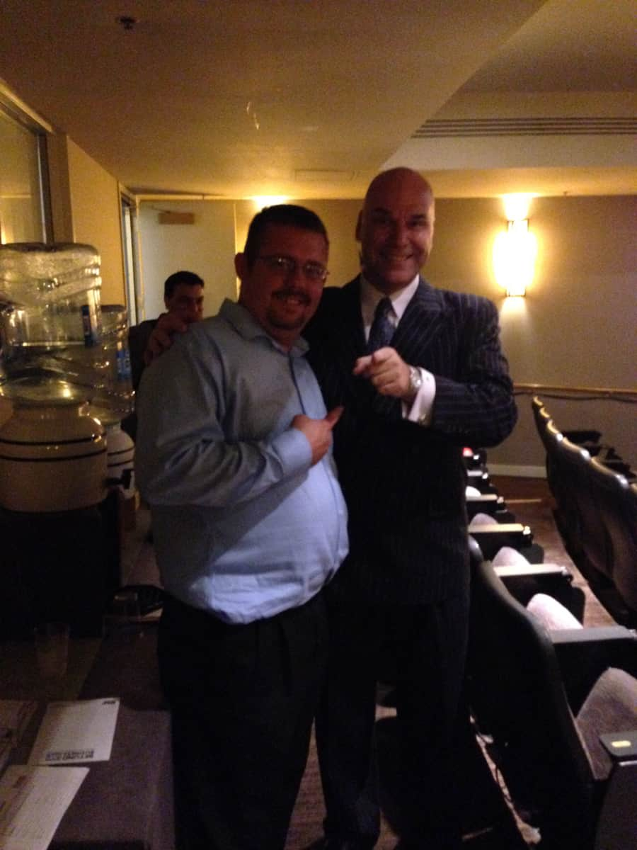 Timothy R. Johnson With Marshall Silver (Famous Hypnotist)